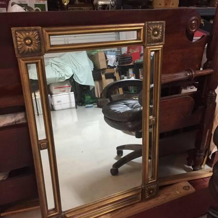 Gold Mirror     $50     View on Craigslist