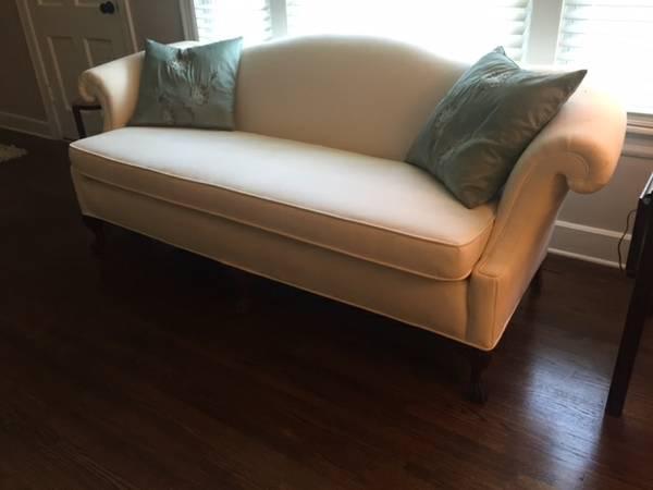 Classic Camelback Sofa $225 View on Craigslist