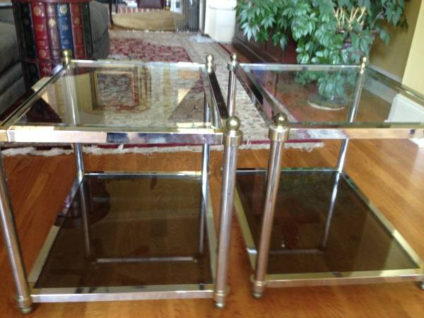 Pair of End Tables $65 View on Craigslist