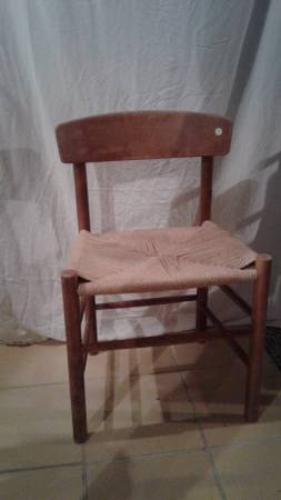 Set of Wishbone Chairs $100 View on Craigslist