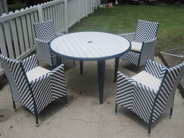 Safavieh Patio Set $300 View on Craigslist