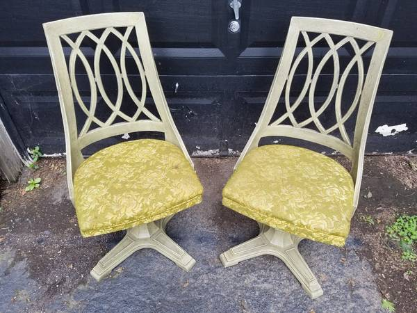 Pair of Vintage Swivel Chairs $125 View on Craigslist