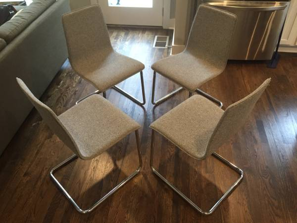 Set of CB2 Chairs $250 View on Craigslist