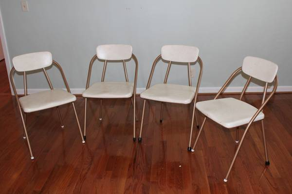 Mid-Century Folding Chairs $85 View on Craigslist