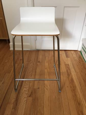 Pair of Ikea Stools $49 View on Craigslist