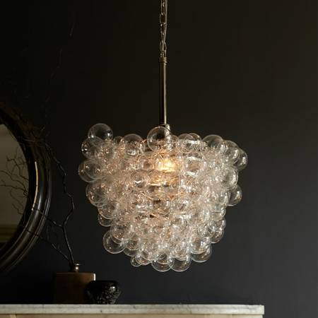 West Elm Droplet Chandelier $200 This retails for $449 at West Elm. View on Craigslist