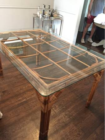 Bamboo Dining Table     $225     View on Craigslist