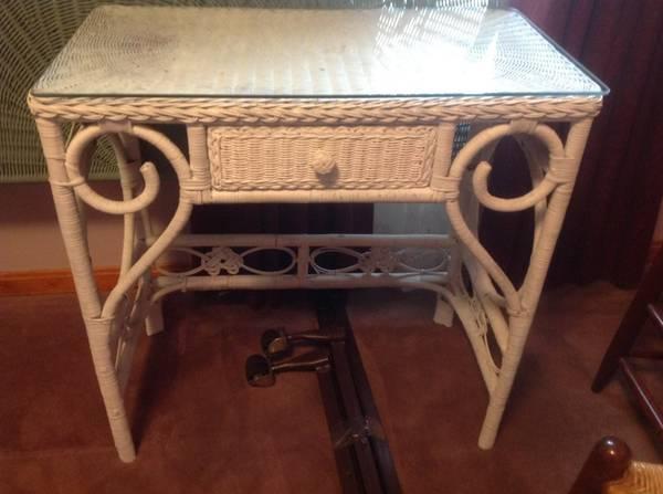 Wicker Desk     $60     View on Craigslist