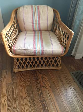 Pair of Rattan Chairs     $80     View on Craigslist