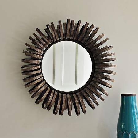 Pair of West Elm Ribbon Mirrors $80 View on Craigslist