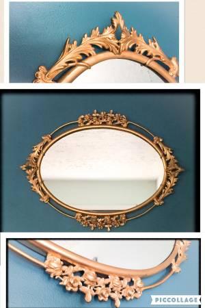 Antique Gold Mirror $50 View on Craigslist