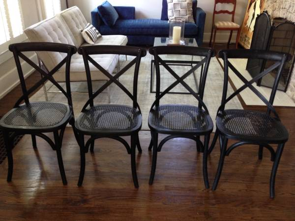 Restoration Hardware Madeline Chairs     $85   I'm guessing these are $85 each but the ad wasn't 100% clear.    View on Craigslist