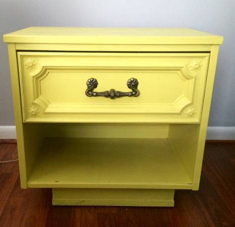 End Table/Nightstand     $15     View on Craigslist