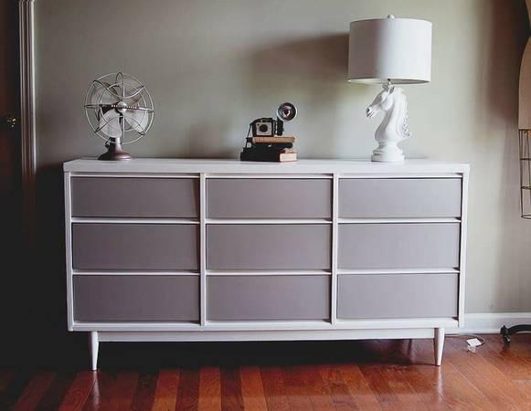 Mid-Century Modern Dresser $160 View on Craigslist
