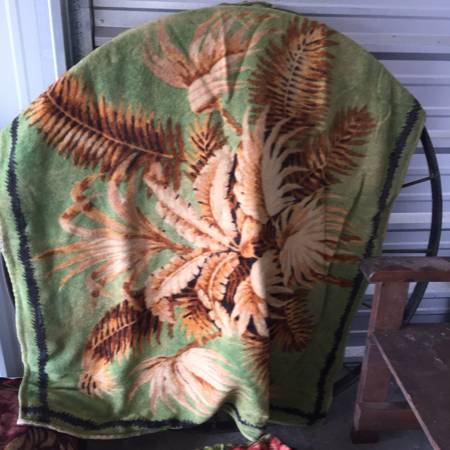 Antique Buggy Blankets     $25 each   Click the listing to see additional photos - there are some gorgeous blankets that would be really pretty hung on a wall.    View on Craigslist