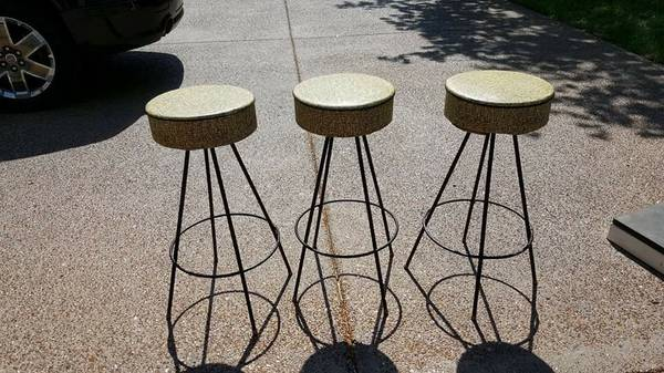 Set of Retro Bar Stools     $150     View on Craigslist