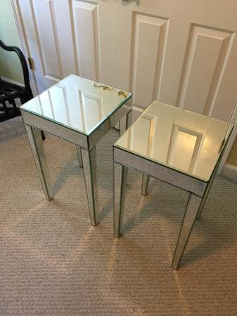 Mirrored Side Tables     $150     View on Craigslist