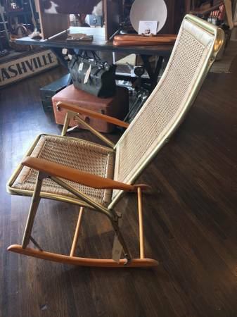 Vintage Folding Wicker Rocker     $140     View on Craigslist
