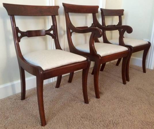 Set of Antique Dining Chairs     $375     View on Craigslist