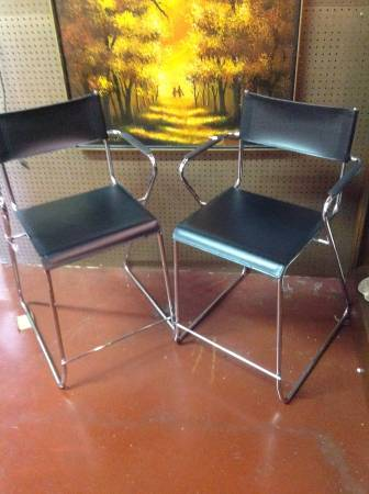 Pair of Mid-Century Stools     $110     View on Craigslist