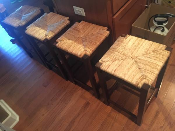 Set of Four Stools     $125   These are counter height stools.    View on Craigslist