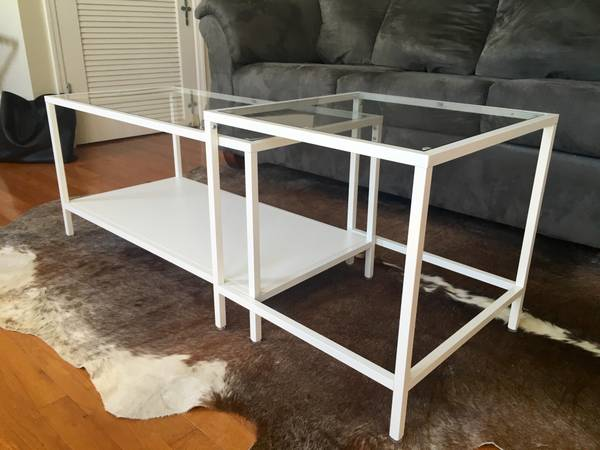 Ikea Nesting Coffee Table     $40     View on Craigslist
