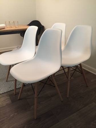 Set of Eames Style Chairs     $100     View on Craigslist