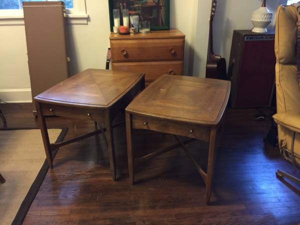 Pair of End Tables $60 View on Craigslist