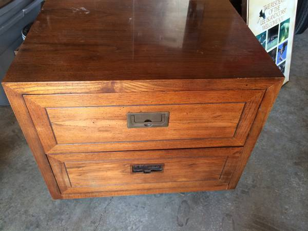 Henredon Campaign End Table     $100     View on Craigslist
