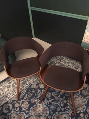 Pair of Mid-Century Chairs     $150     View on Craigslist