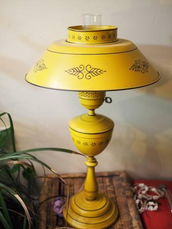 Antique Tole Lamp $30 View on Craigslist