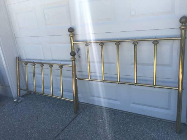 Vintage Brass Bed $50 View on Craigslist