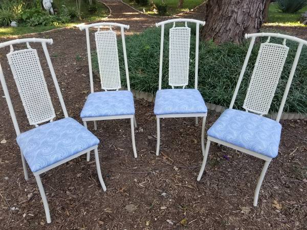 Bamboo Metal Chairs     $165     View on Craigslist
