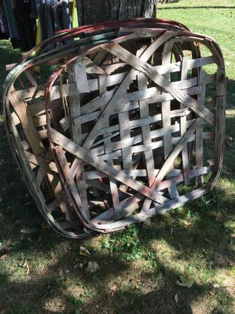 Tobacco Baskets $40 each View on Craigslist