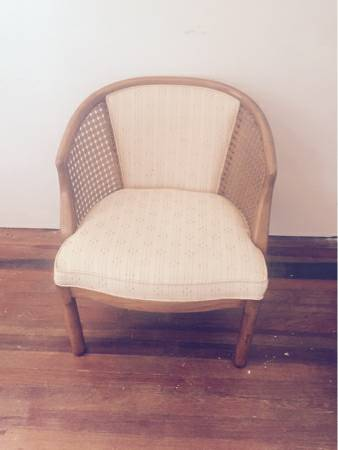 Vintage Cane Chair     $50     View on Craigslist