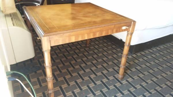 Vintage Card Table     $30     View on Craigslist