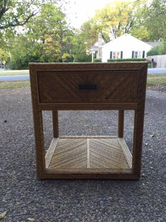 Wicker Side Table     $30     View on Craigslist