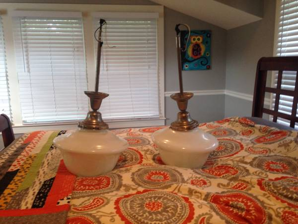 Pair of Pendant Lights     $50     View on Craigslist