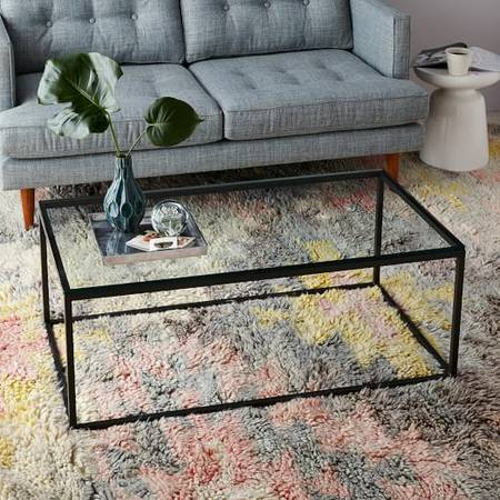 West Elm Coffee Table $275 View on Craigslist
