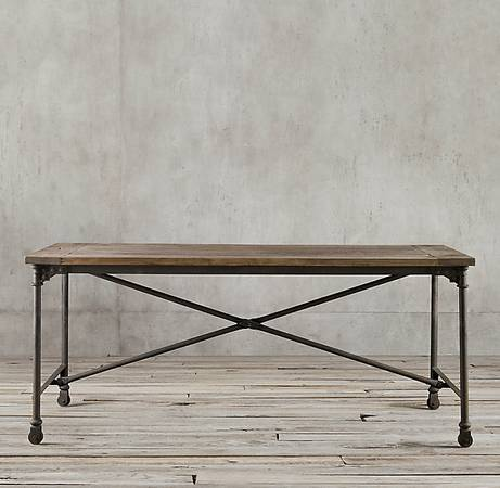 Restoration Hardware Dining Table $775 View on Craigslist