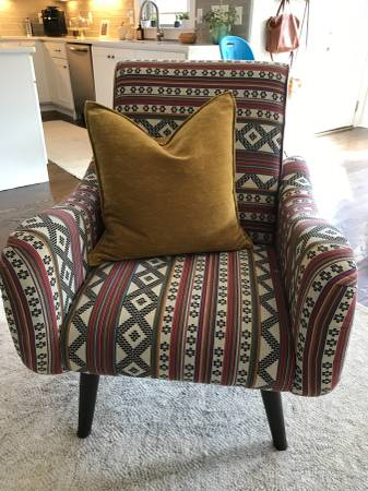Mid-Century Style Chair $200 View on Craigslist