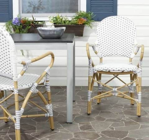 Pair of Safavieh Bistro Chairs     $150     View on Craigslist