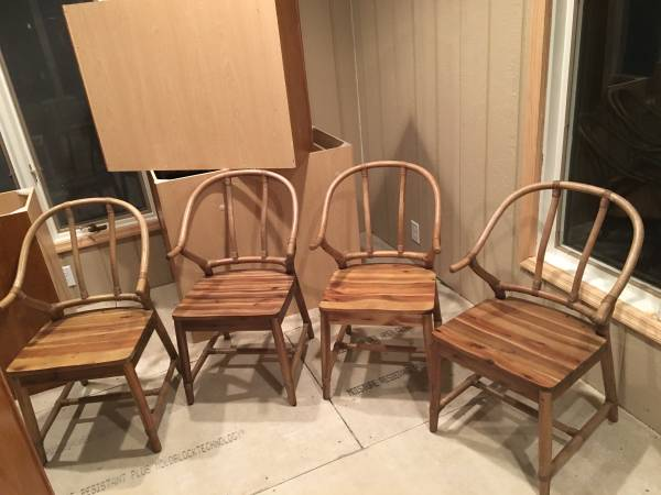 Set of World Market Chairs     $200     View on Craigslist