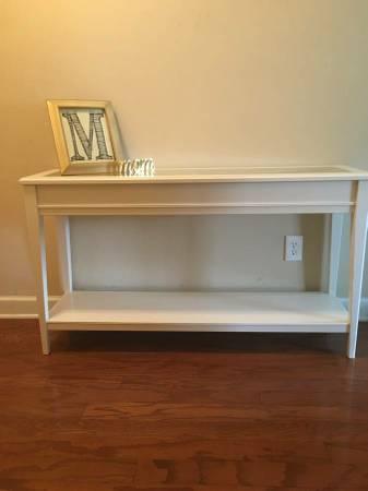 Ikea Sofa Table $100 View on Craigslist