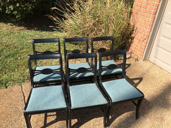 Set of Antique Dining Chairs     $60     View on Craigslist