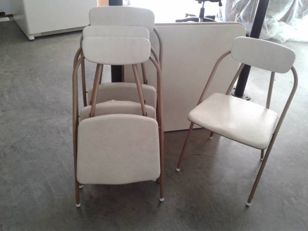 Vintage Folding Table and Chairs     $50     View on Craigslist