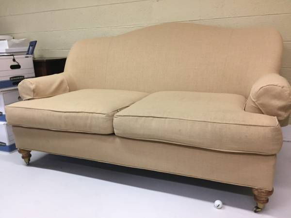 Pair of Linen Sofas     $400     View on Craigslist