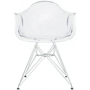 Clear Eiffel Chair     $80     View on Craigslist