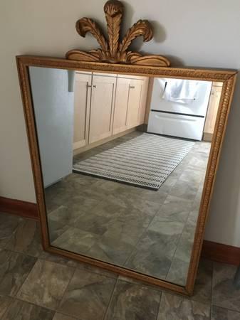 Gold Mirror $40 View on Craigslist