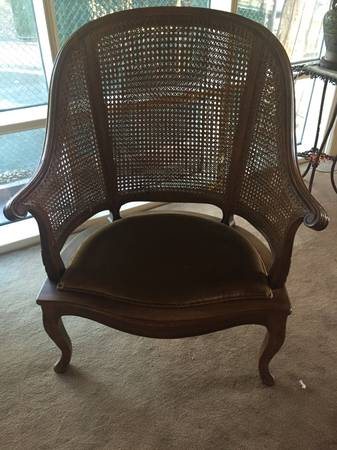 Pair of Cane Back Chairs     $180     View on Craigslist